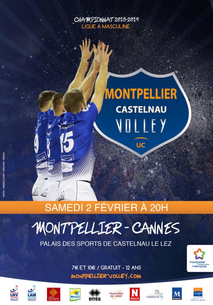 montpellier-cannes: infos billetterie – montpellier volley